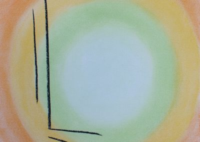 abstract pastel, Halo, by lia van elffenbrinck